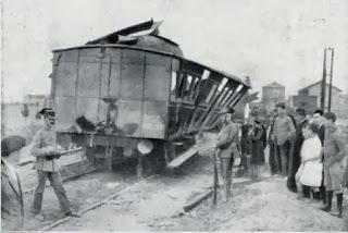 Siniestro ferroviario en Leganes. Abuelohara