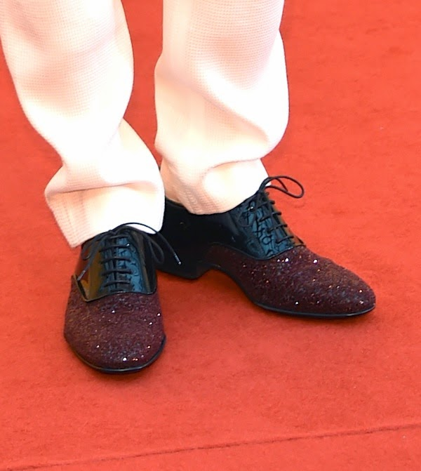 Zheng Kai's Jimmy Choo 'Barker' shoes - 4th Beijing International Film Festival 郑凯亮相2014北京国际电影节