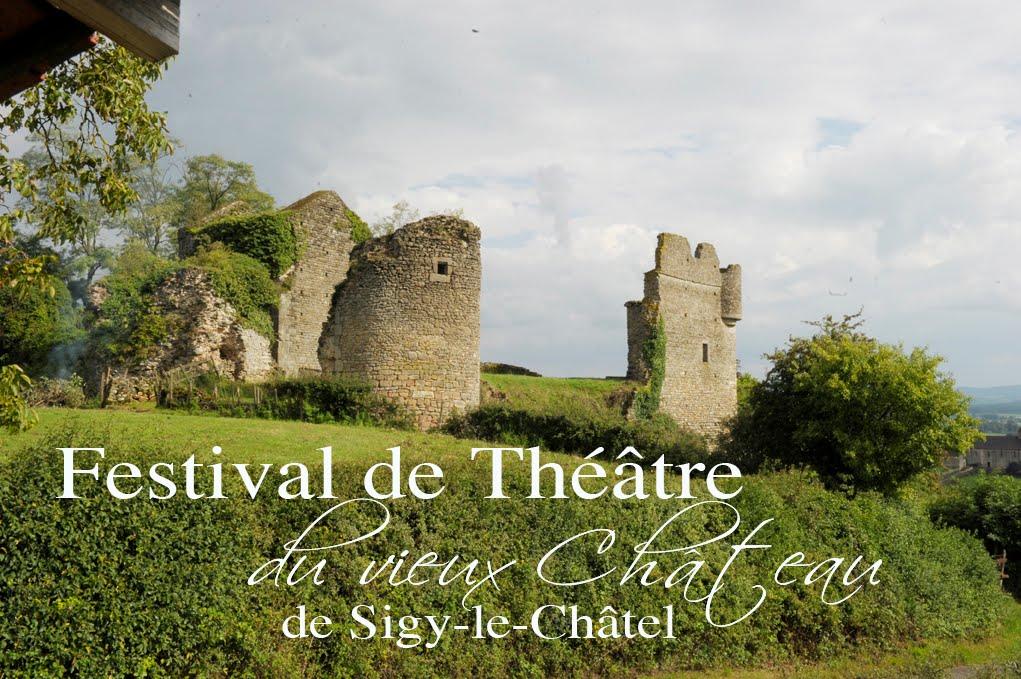 Festival de theâtre du vieux chateau de Sigy-le-Châtel