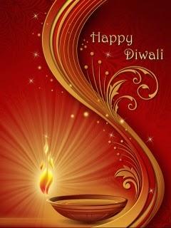 Happy Diwali 240x320 Mobile Wallpaper