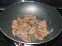 Chinese stir fried beef