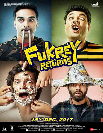 Watch Online Fukrey Returns 2017 Full Movie Download HD Small Size 720P 700MB HEVC HDRip Via Resumable One Click Single Direct Links High Speed At beyonddistance.com