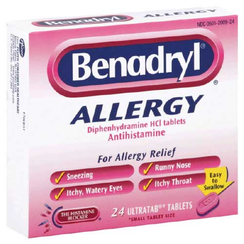 Is it safe to give a cat benadryl?.