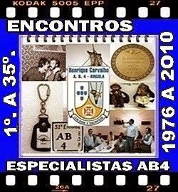 1º a 35º ENCONTROS DOS ESPECIALISTAS DO AB4 - 1976 a 2010