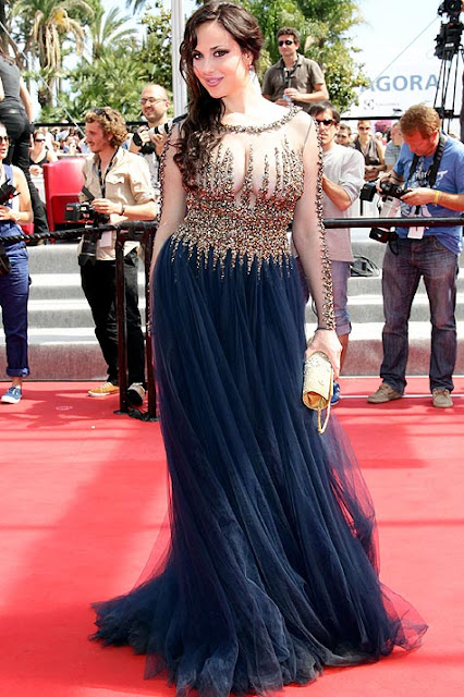 Isabelle Adriani Cannes 2012