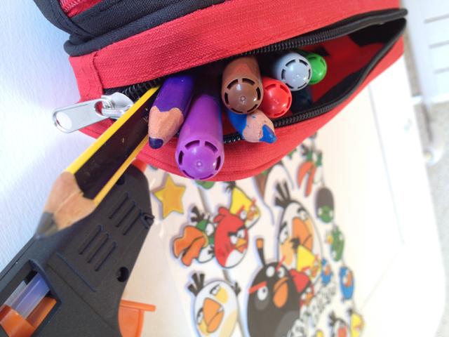 estuche escolar Angry Birds