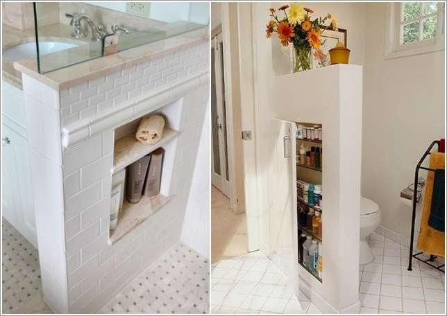 ชั้นวางของในห้องน้ำ