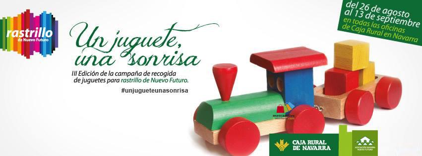 Mercadillos and markets recogida de juguetes nuevo futuro for Oficinas caja rural de navarra