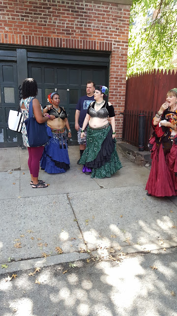 Belly Dancers Cranberry Street Fair