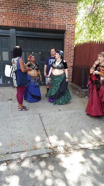 Belly Dancers Cranberry Street Fair