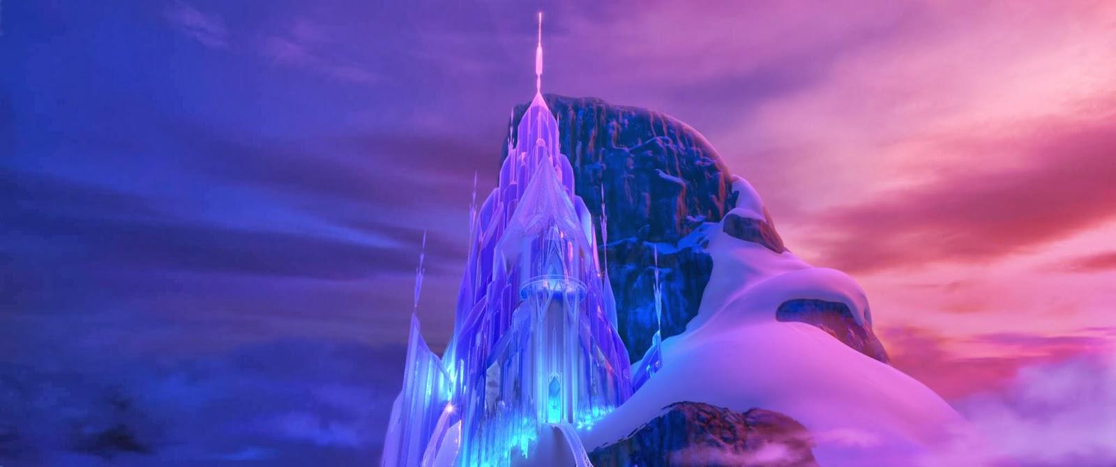 Ice castle Frozen animatedfilmreviews.filminspector.com