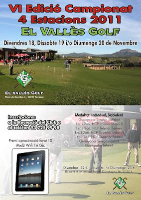 El Valles Golf Torneig 4 Estacions de Pitch and Putt