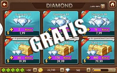 Cara Mendapat Diamond Line Let's Get Rich GRATIS