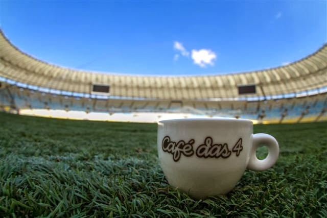 Café das 4 conquista conta digital do Maracanã