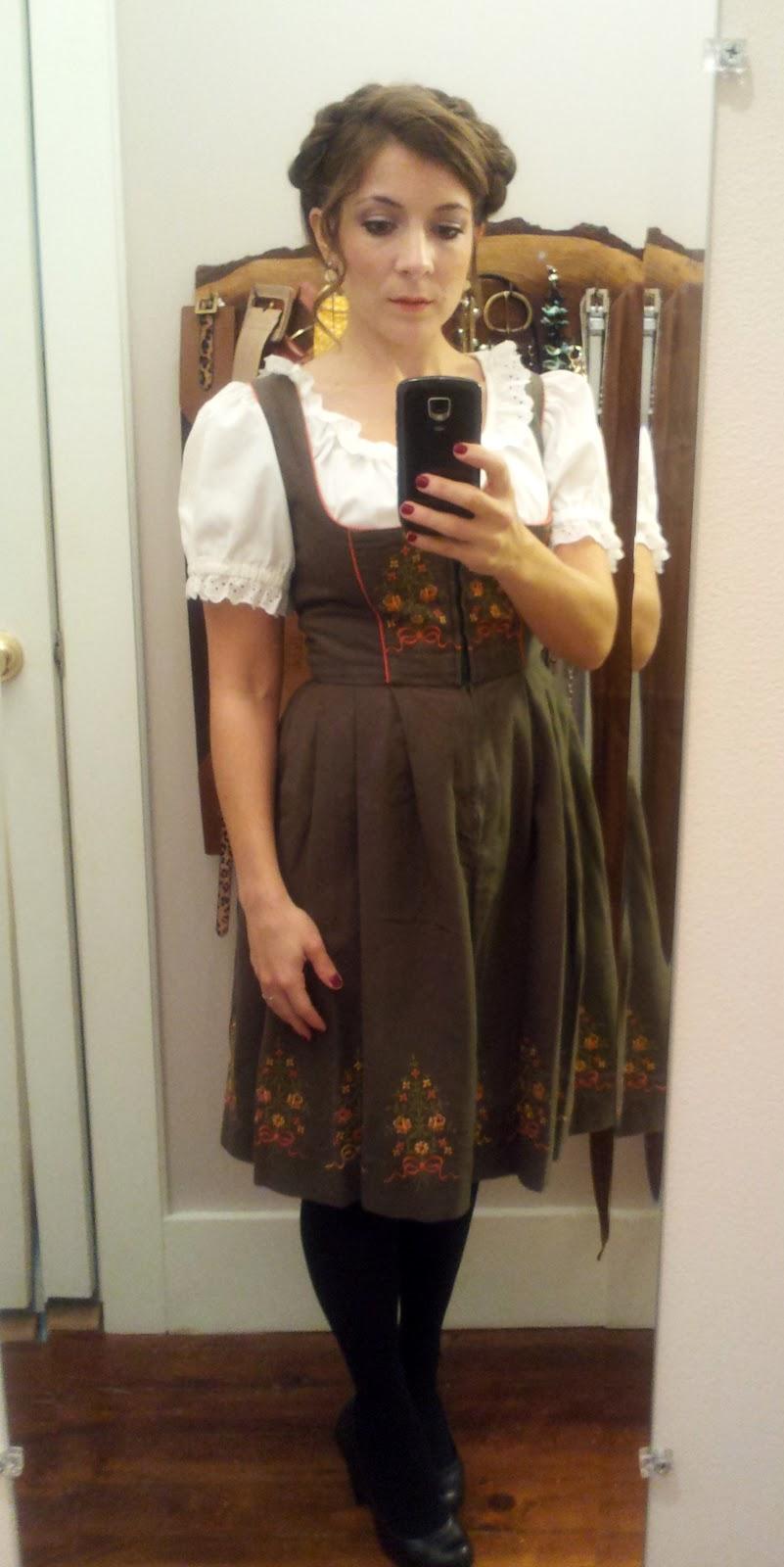 Western Saloon Girl Hairstyles Final costume - german girl