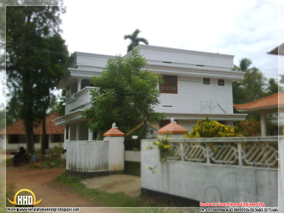 1675 sq ft brand new villa for sale at Chalakudy