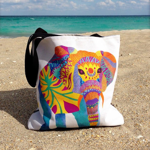 http://society6.com/pomgraphicdesign/Whimsical-Elephant-z2F_Bag#26=197