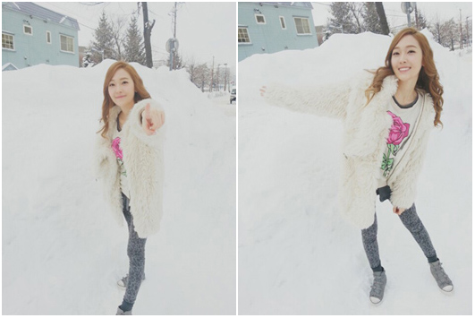 JESSICA SNSD ICE PRINCESS REAL ICE SNOW PIC
