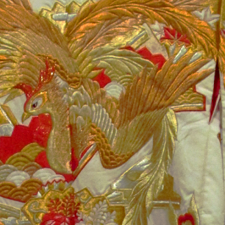 Japanese kimono in Haifa museum