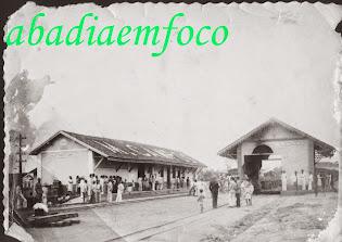 Antiga estação do trem de ferro