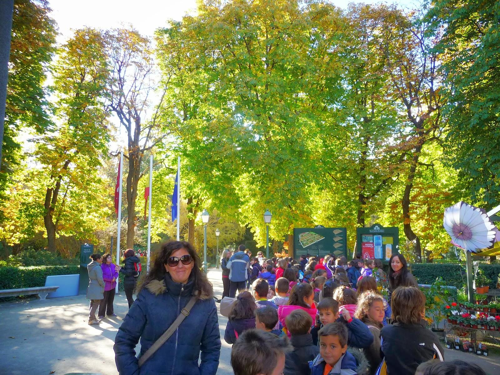 Blog ceip p a de alarc n una ma ana en el jard n for Ceip jardin botanico