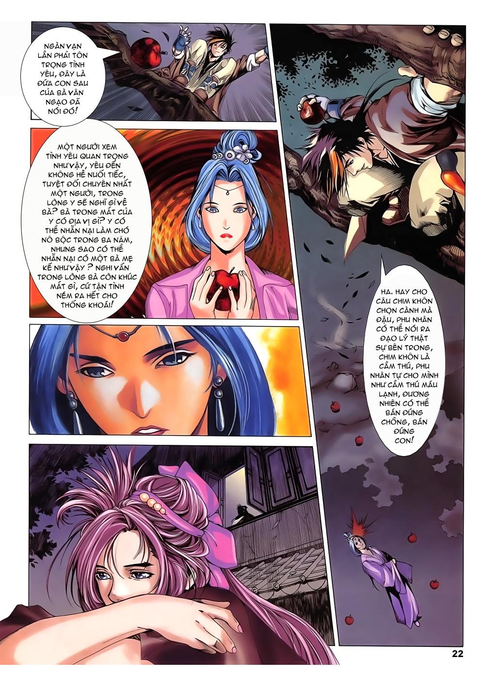 Lục Đạo Thiên Thư chap 14 - Trang 22