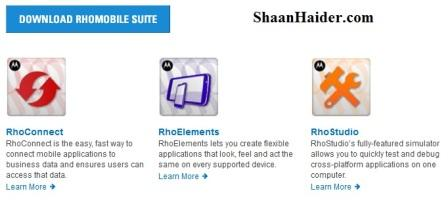 Rhomobile - Best Software to Build iPhone Apps