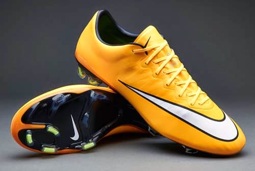 Nike Mercurial Vapor X FG with Laser Orange