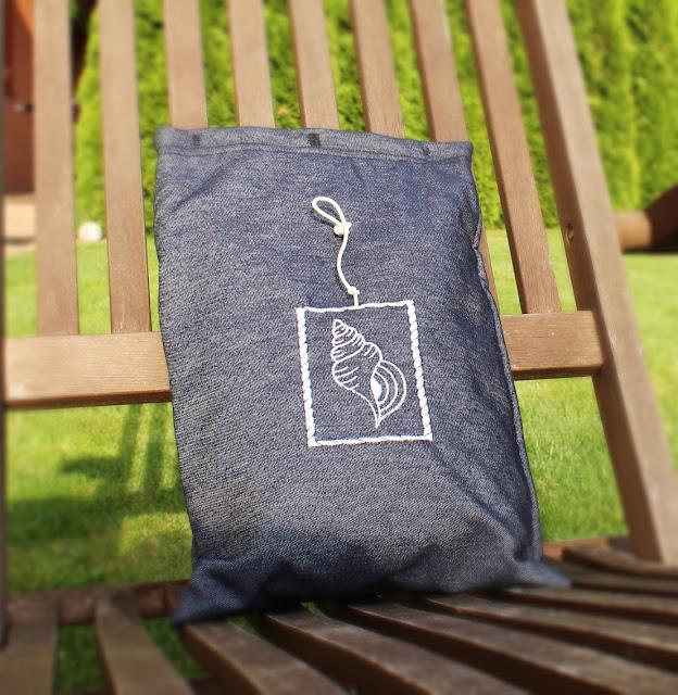 piękny ogród,worek na strój kąpielowy,worek wodoszczelny,szczecin blog szycie DIY zrób to sam