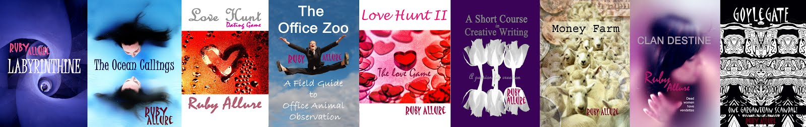 Ruby Allure's Books