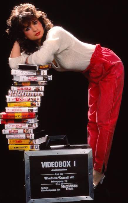 Christina Lindberg on VHS
