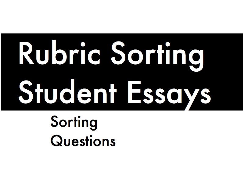 Research Paper    Listening Rubric   Speechsuccess net Term paper chapter   sample