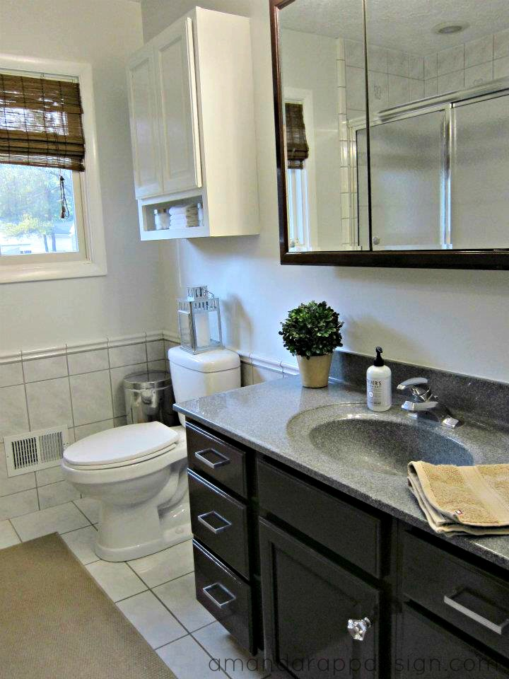 Amanda Rapp Design Our First House Quick Bathroom Update - Quick bathroom updates