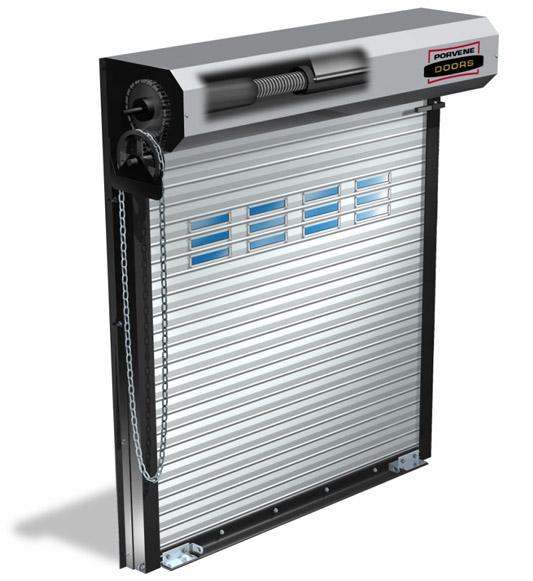 Ramirez Custom Overhead Doors: Porvene Model 600 Roll-Up Commercial ...