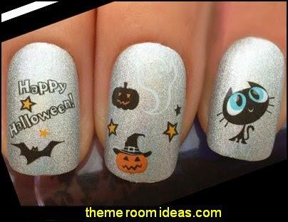 Decorating Theme Bedrooms Maries Manor Nail Art Halloween