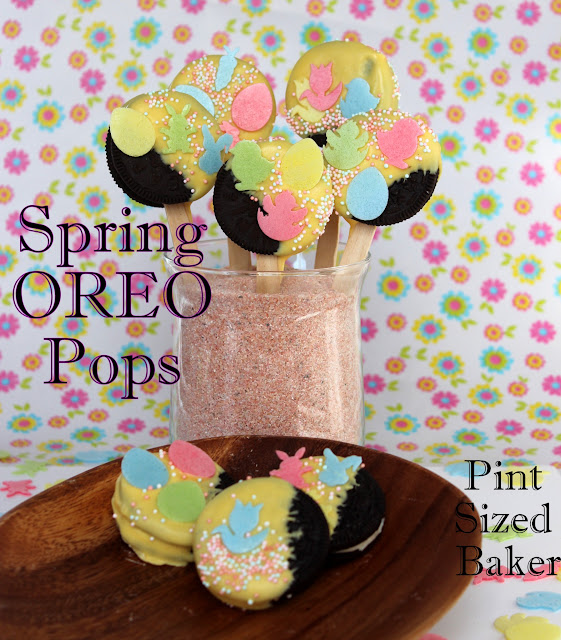 Cookies, Oreo, Food on a Stick, Sprinkles, Fun, Easy, Kid Friendly