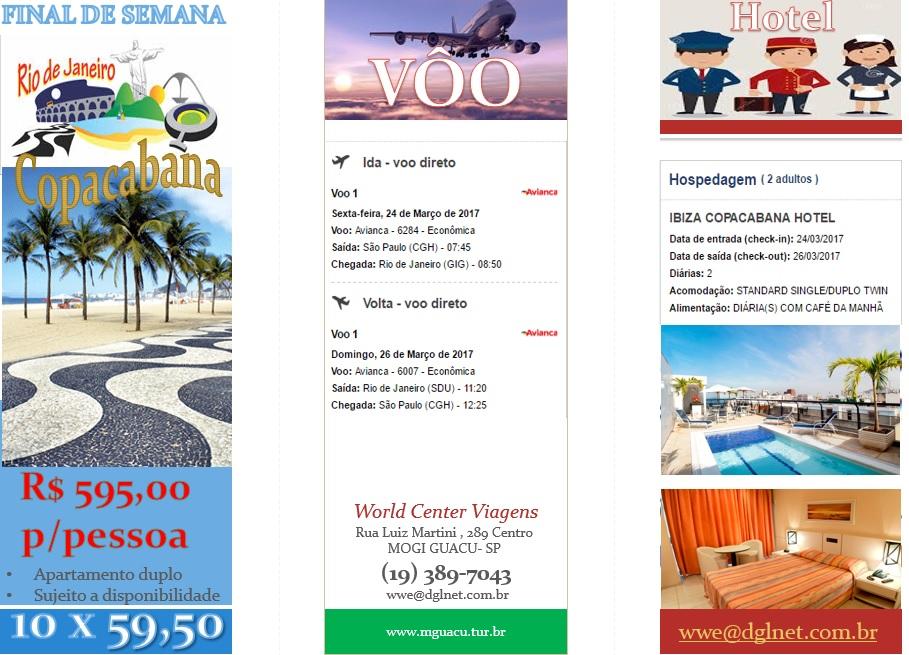 World Center Viagens Mogi Guaçu