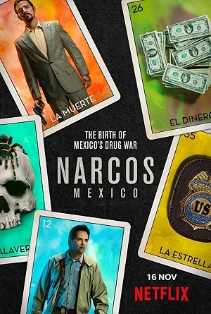 Narcos - México 1ª Temporada Completa Séries Torrent Download capa