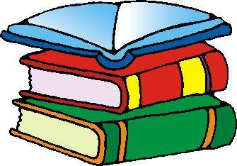 Desenho de livros colorido