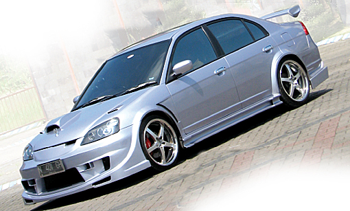 Honda New Civic '01 : Sport Car Wak Haji