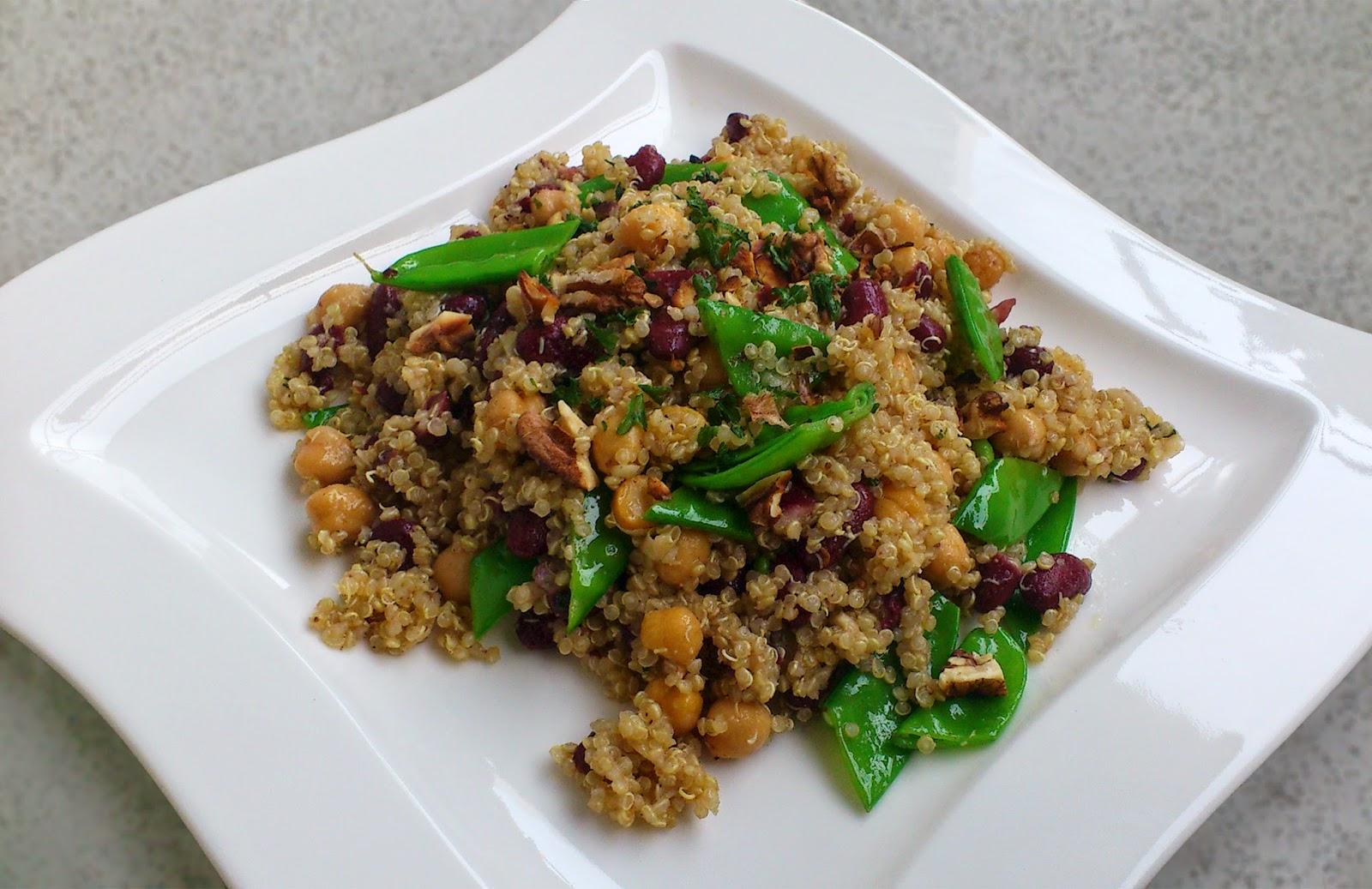von veganen k chengel sten und anderen dingen quinoa h lsenfr chte salat. Black Bedroom Furniture Sets. Home Design Ideas