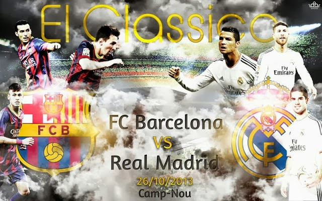 Kumpulan Wallpaper EL CLASICO: Barcelona vs Real Madrid Terbaru 2013-2014