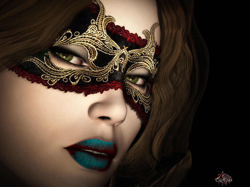 Masquerade Makeup Under Mask Masquerade look / mask