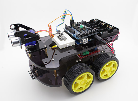 Isso e outras coisas arduino wd ultrasonic robot kit