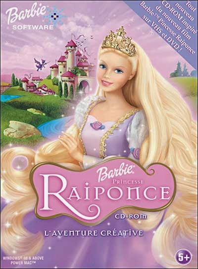 Barbie princesse raiponce streaming movies de barbie en - Barbie en princesse ...