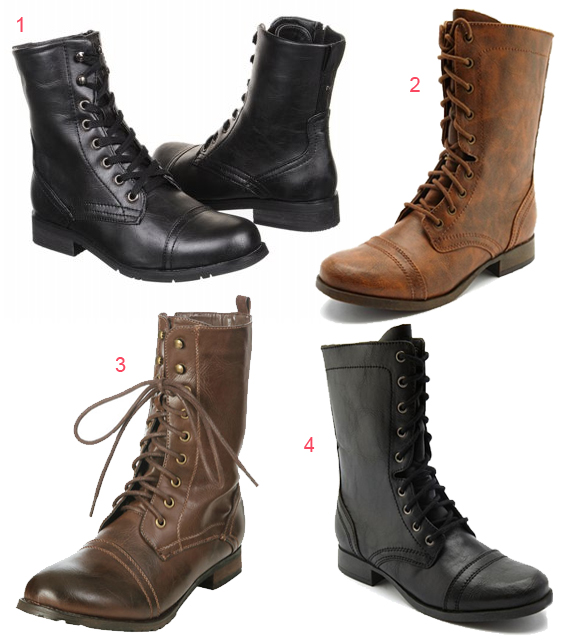 Über Chic for Cheap: Request: Steve Madden Troopa Combat Boots for ...