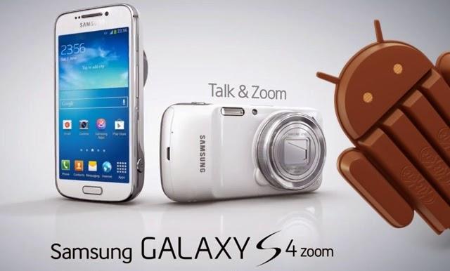 Tutorial - Atualização oficial do Android 4.4.2 KitKat para o Galaxy S4 Zoom, modelo SM-C101