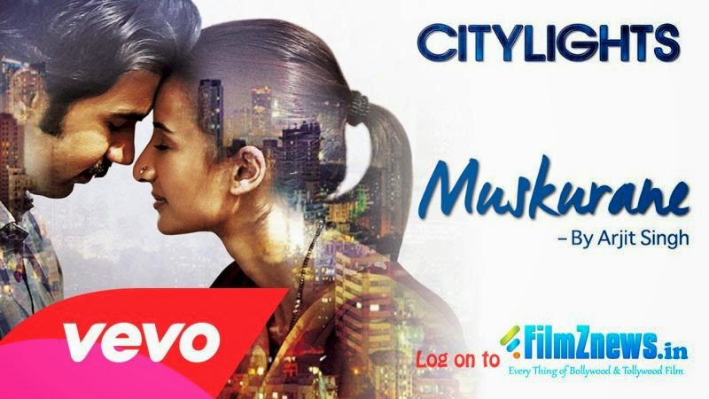 Muskurane Ki Wajah Tum Ho Lyrics from Citylights (2014)
