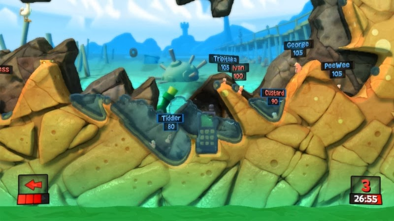 Worms Revolution full game