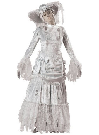 In Character Costumes LLC Ghostly Lady Adult Gown  sc 1 st  Jaguar Julie  Blog On and On & Julie Ann Brady : Blog On: Victorian Ghost Halloween Costume for Women